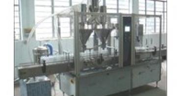 machine de remplissage de bidons de poudre