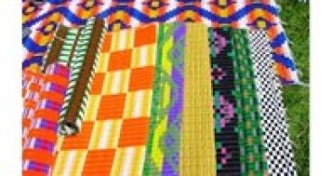 machine de fabrication de tapis plastiques